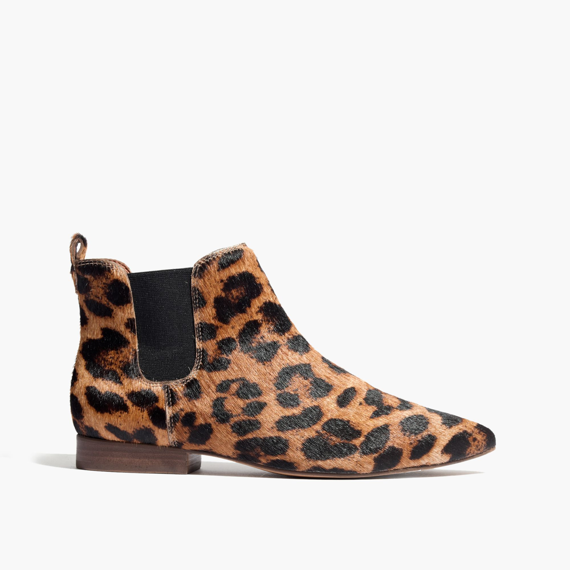 madewell the nico boot in leopard in brown lyst