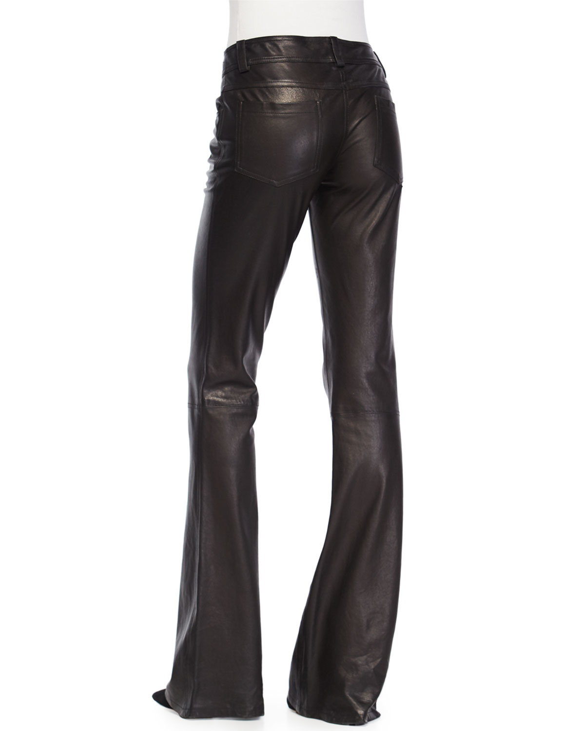 More Details Veronica Beard Hibiscus High-Rise Flare Pants, Black Details Veronica Beard