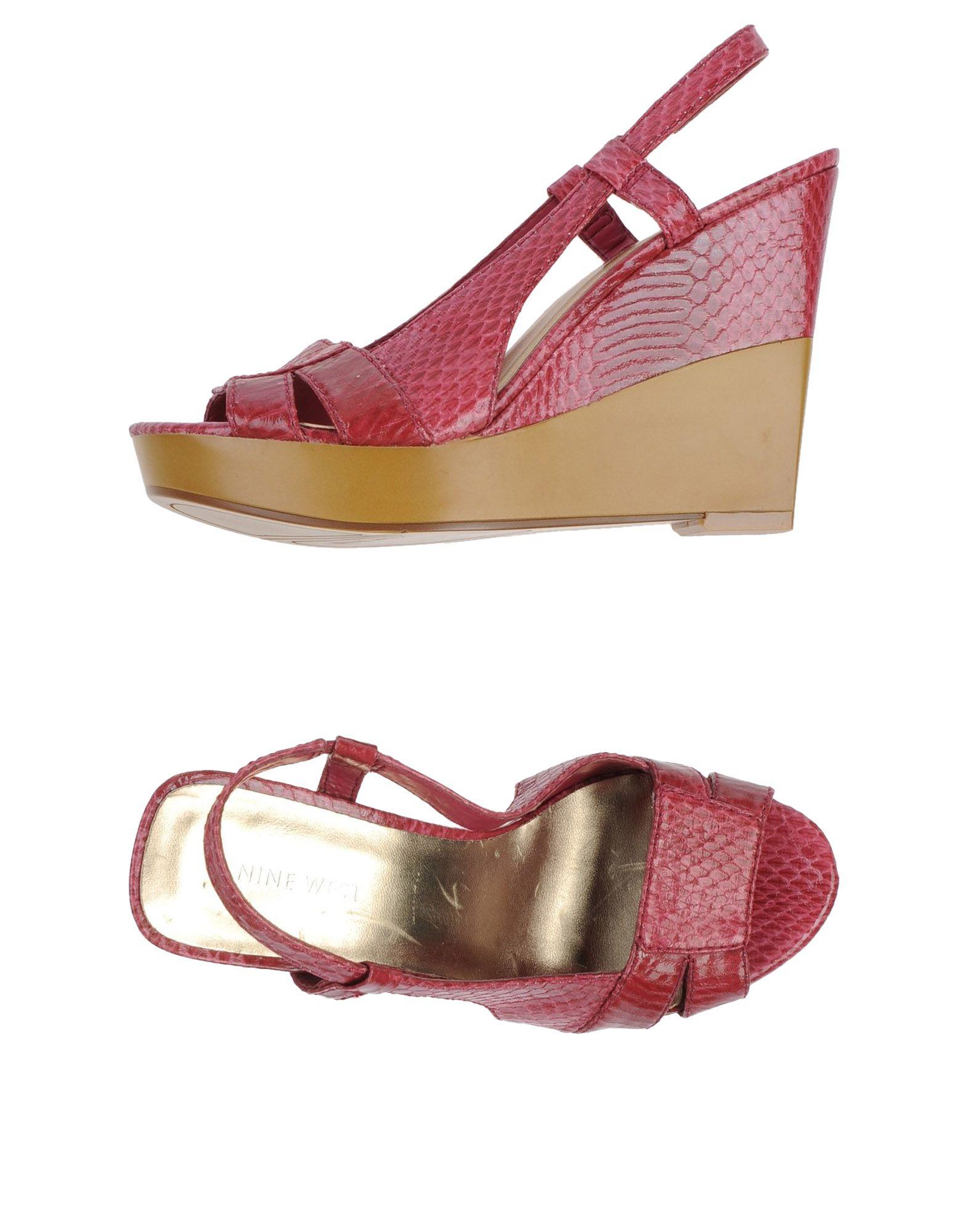 nine west sandals in pink pastel pink lyst