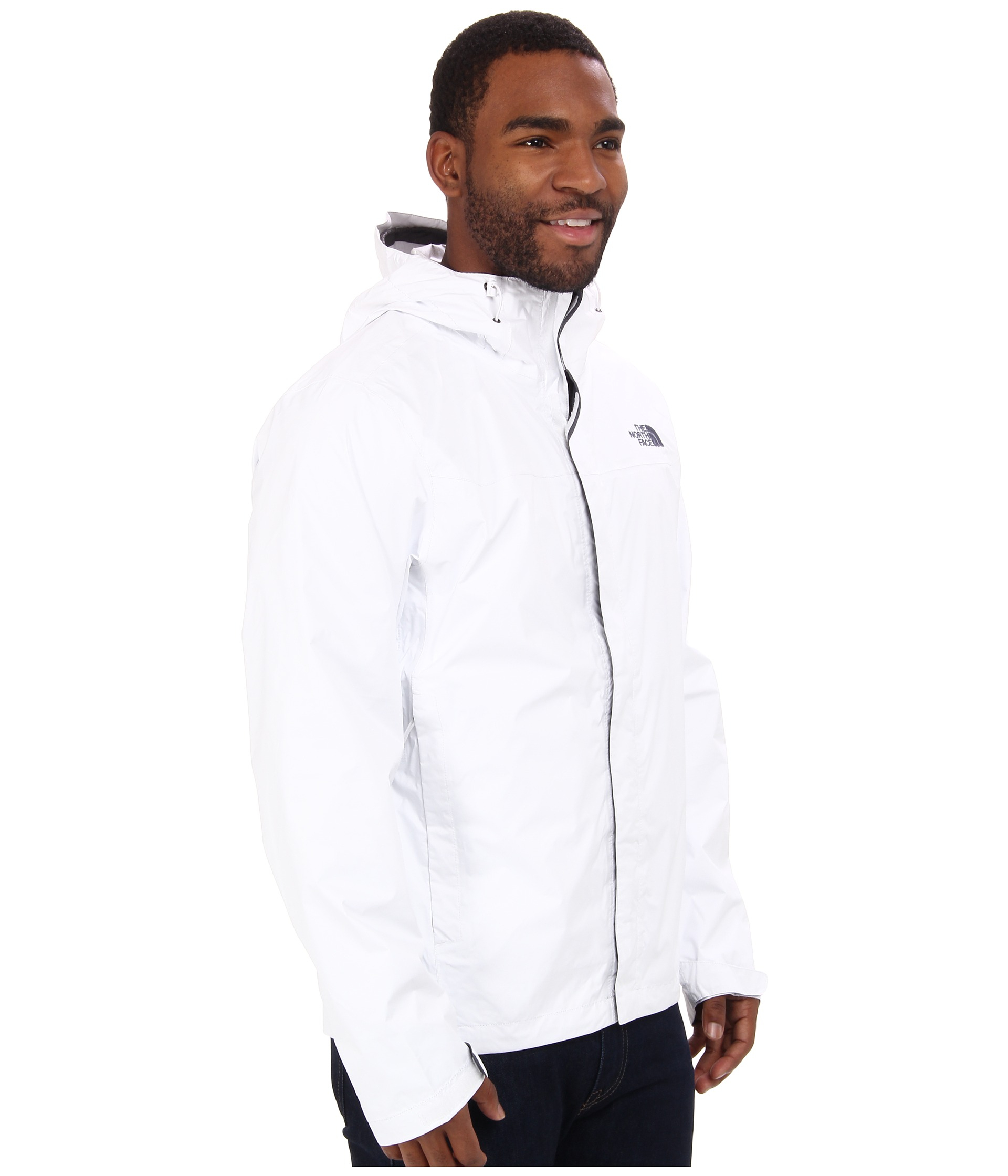 384aa627bc49 ... netherlands lyst the north face venture jacket in white for men a5937  f8400