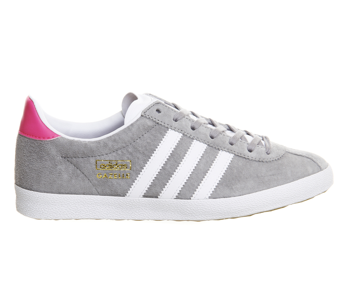 adidas originals gazelle og w in gray lyst. Black Bedroom Furniture Sets. Home Design Ideas