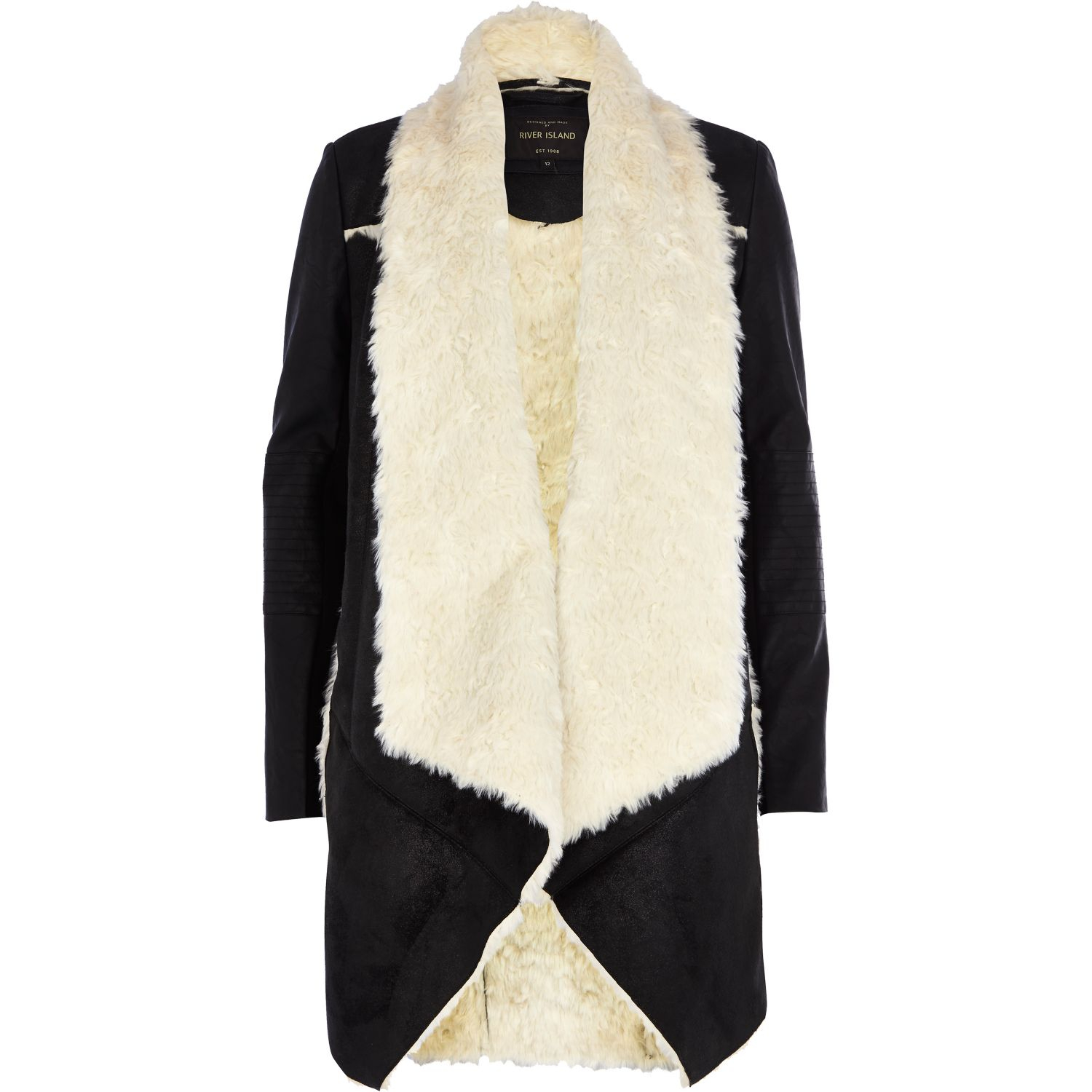River Island Fur Cardigan