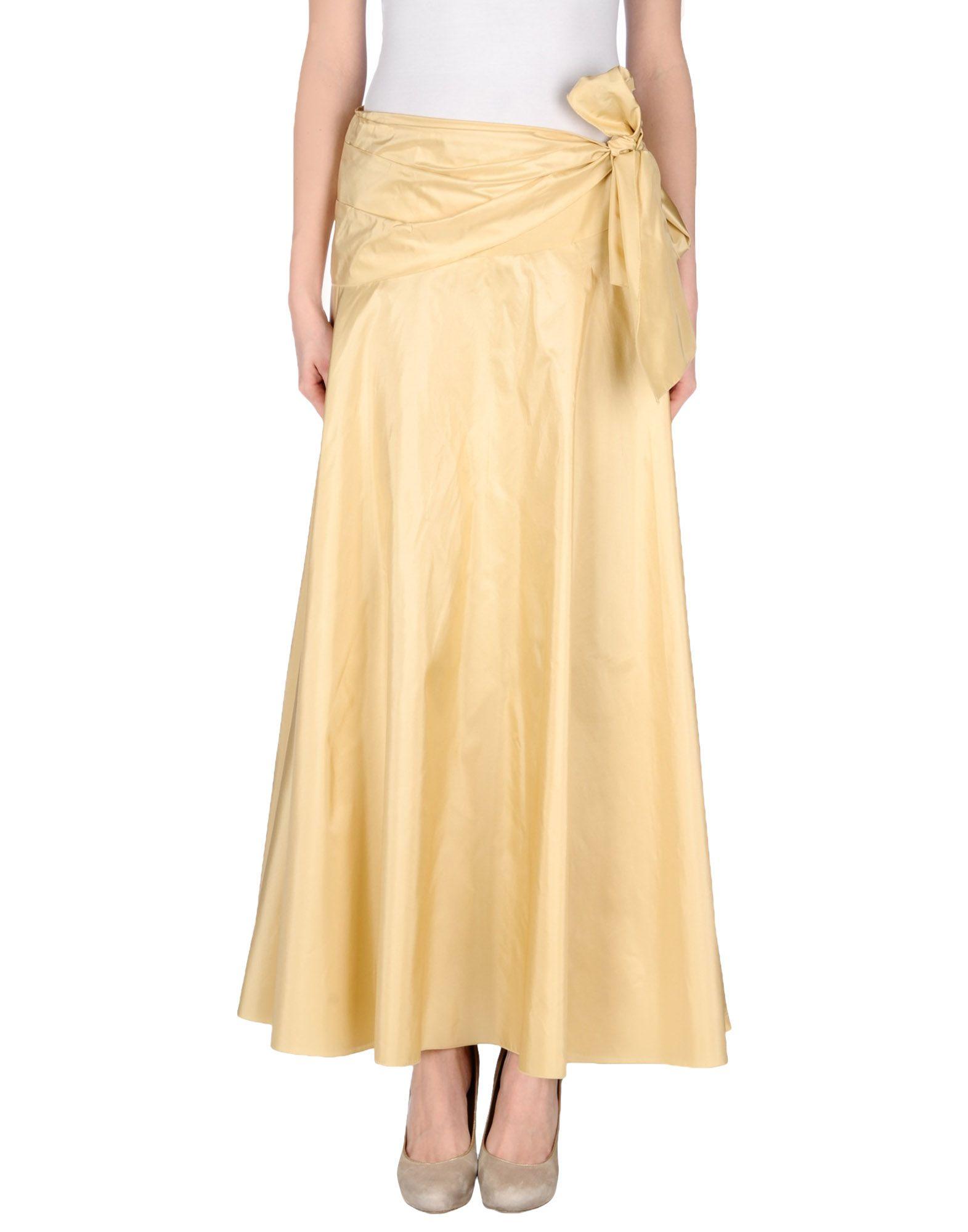 Long Beige Skirt 5