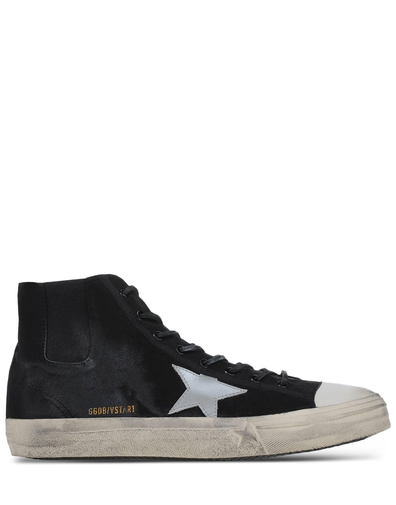 golden goose deluxe brand high top sneakers in black for men lyst. Black Bedroom Furniture Sets. Home Design Ideas