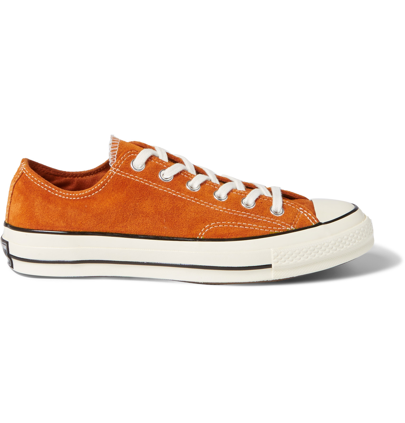 114de88aab0c Converse 1970s Chuck Taylor All Star Suede Sneakers in Orange for ...