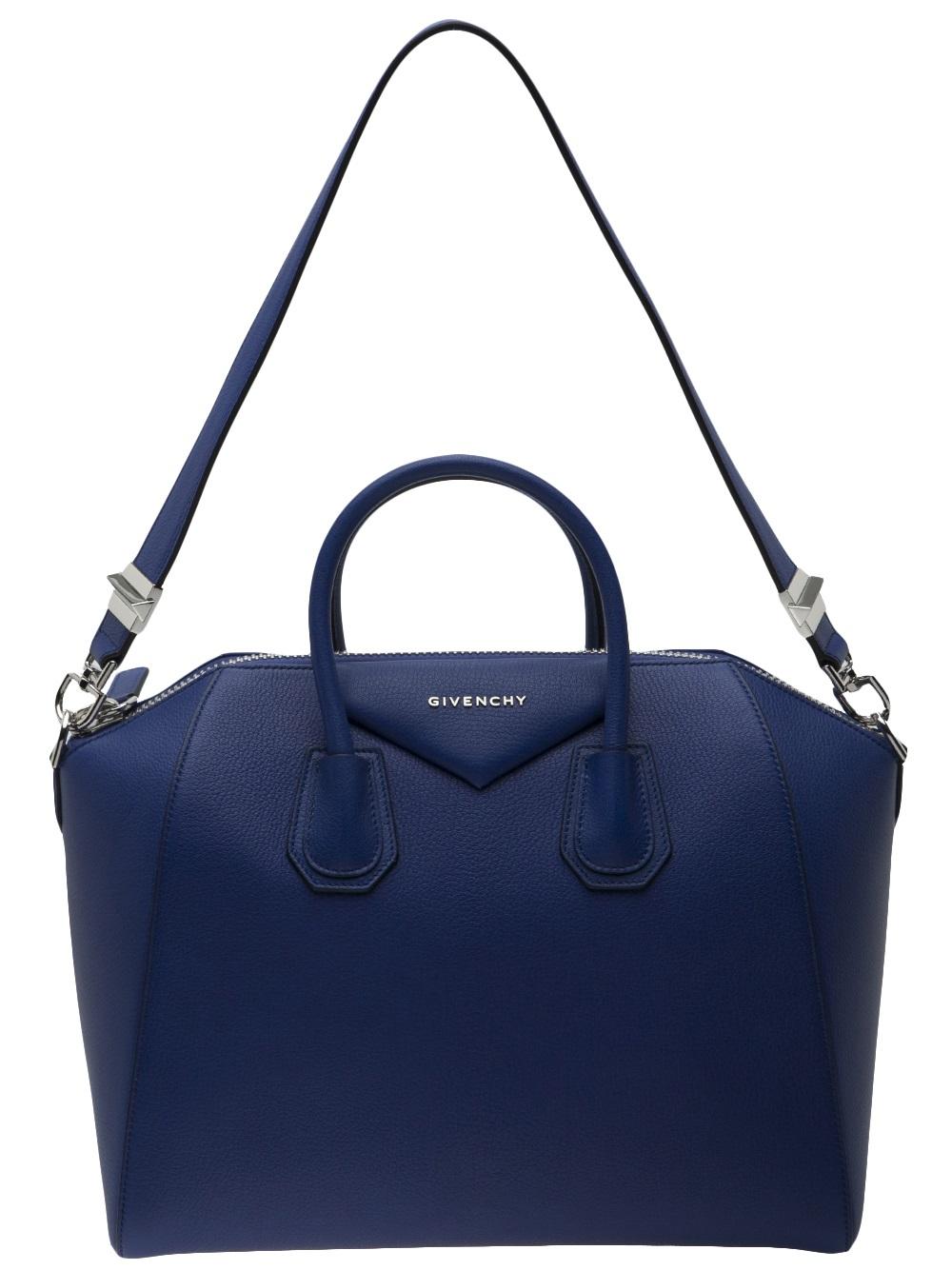 a9ff656ee0 Lyst - Givenchy Antigona Medium Bag in Blue