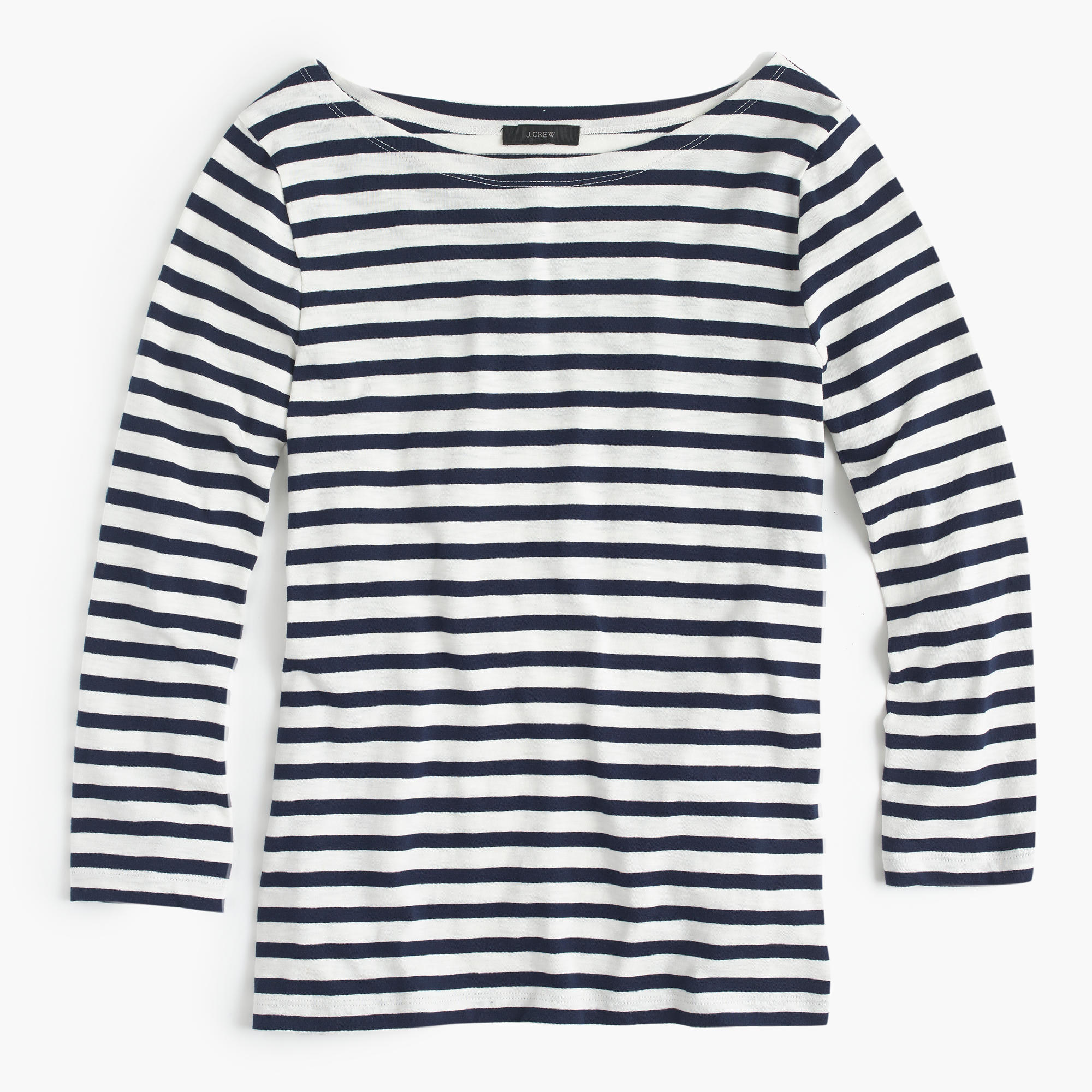 striped cotton t shirt in blue lyst