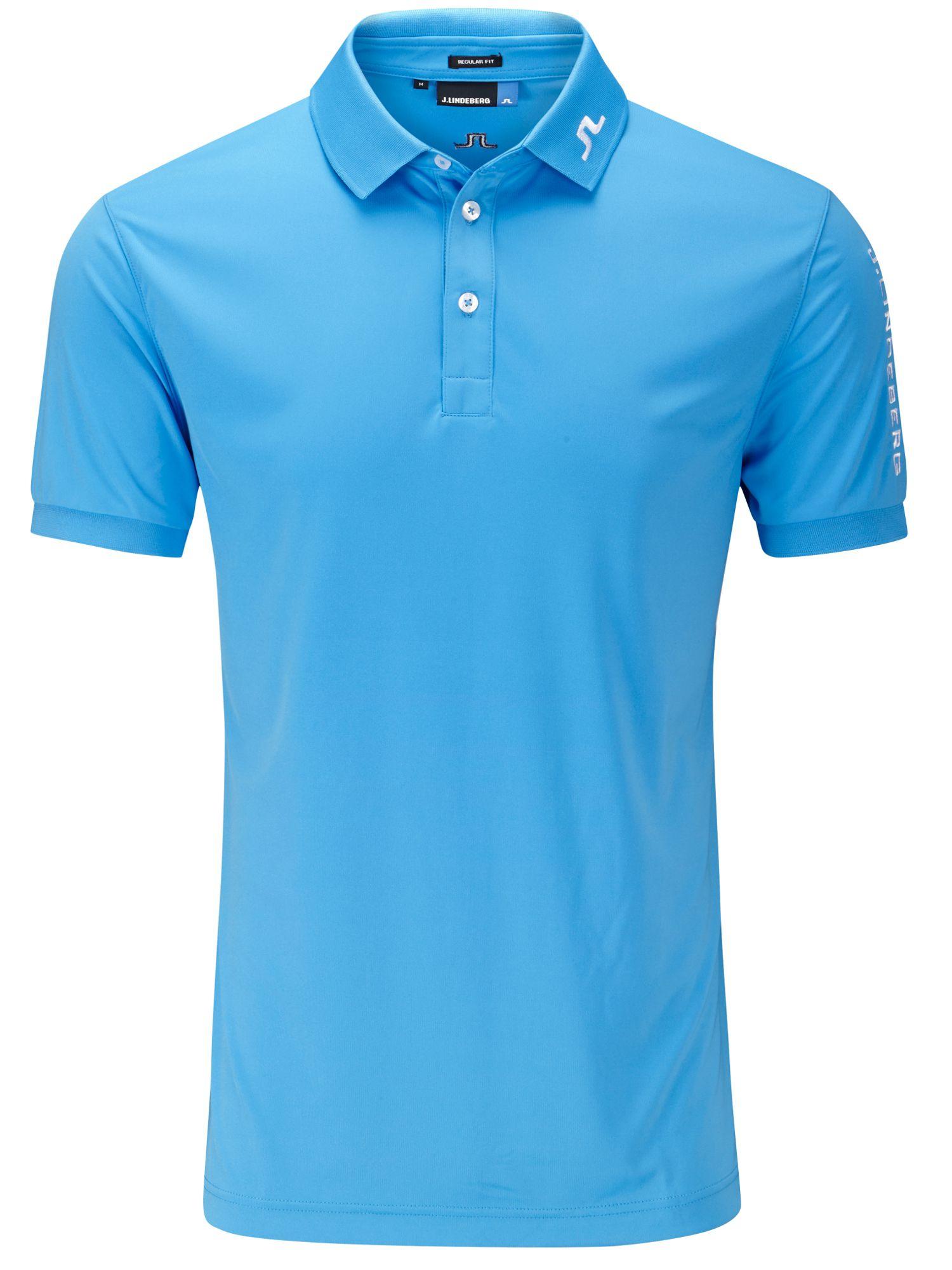 Tour Tech Tx Polo Shirt In Blue For Men Lyst