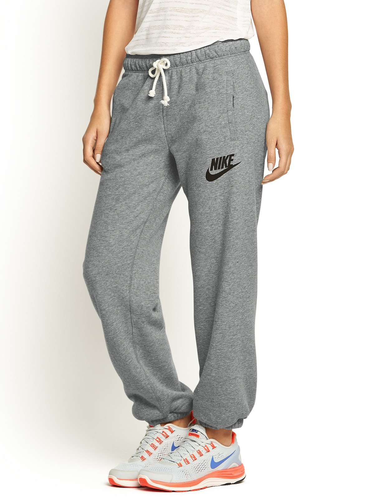 Nike Rally Loose Fit Pants in Gray (grey)