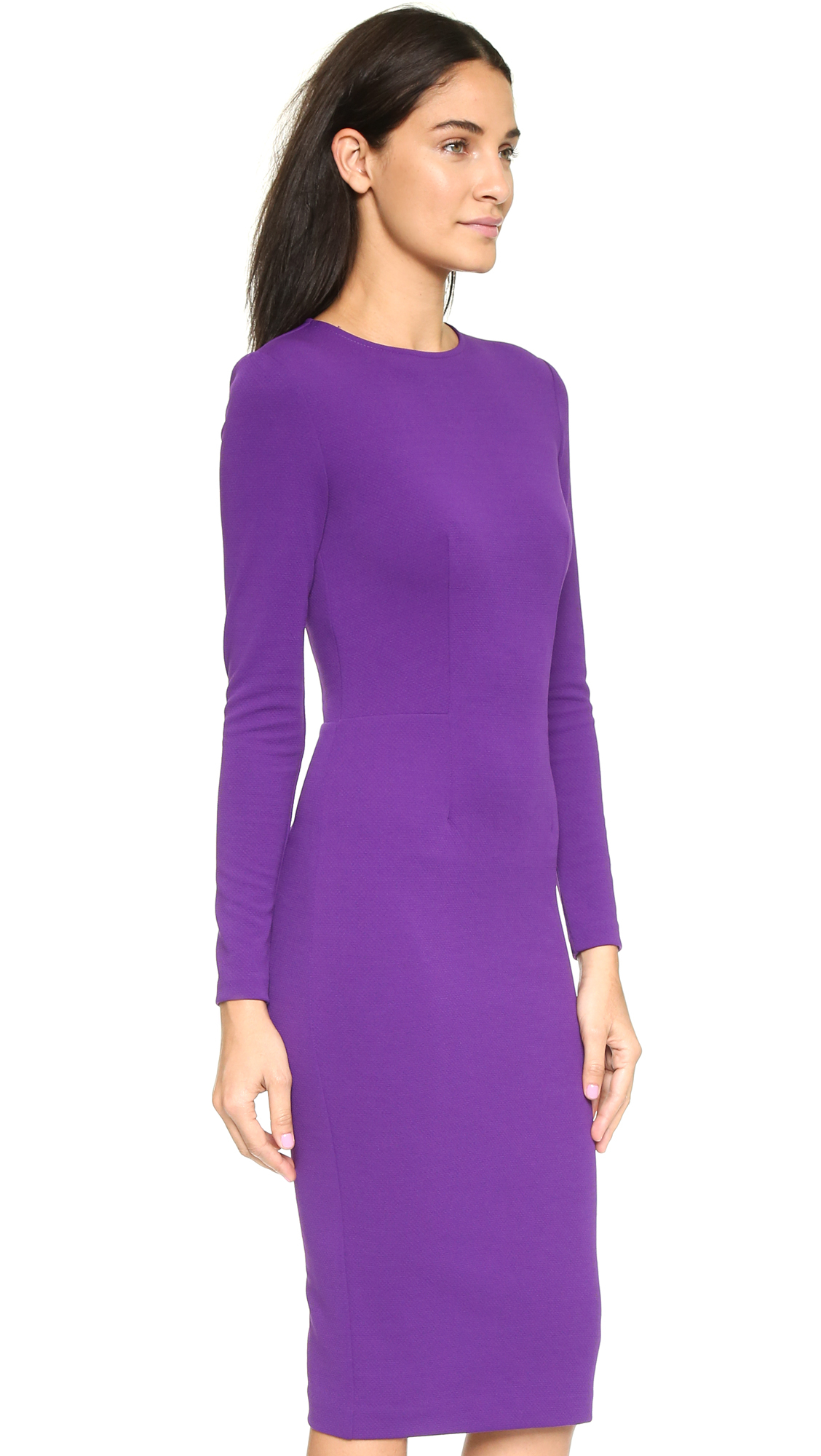 f0e0ec58f28c 5th   Mercer Long Sleeve Dress - Purple in Purple - Lyst