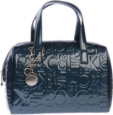 Calvin Klein Jeans Handbag in Blue (Deep jade)