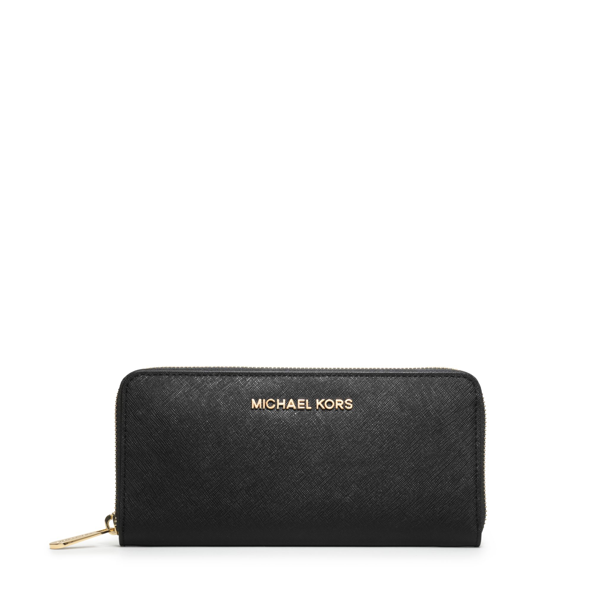 Michael Kors Jet Set Travel Saffiano Leather Continental