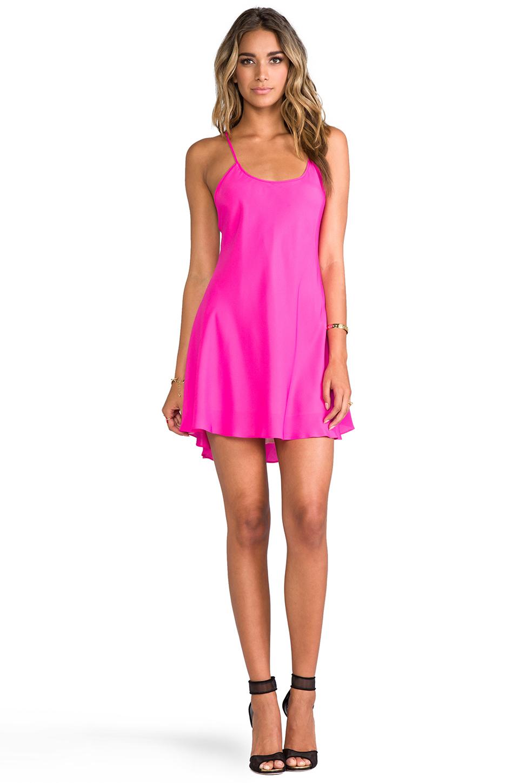 Naven Babydoll Dress in Pop Pink in Pink | Lyst