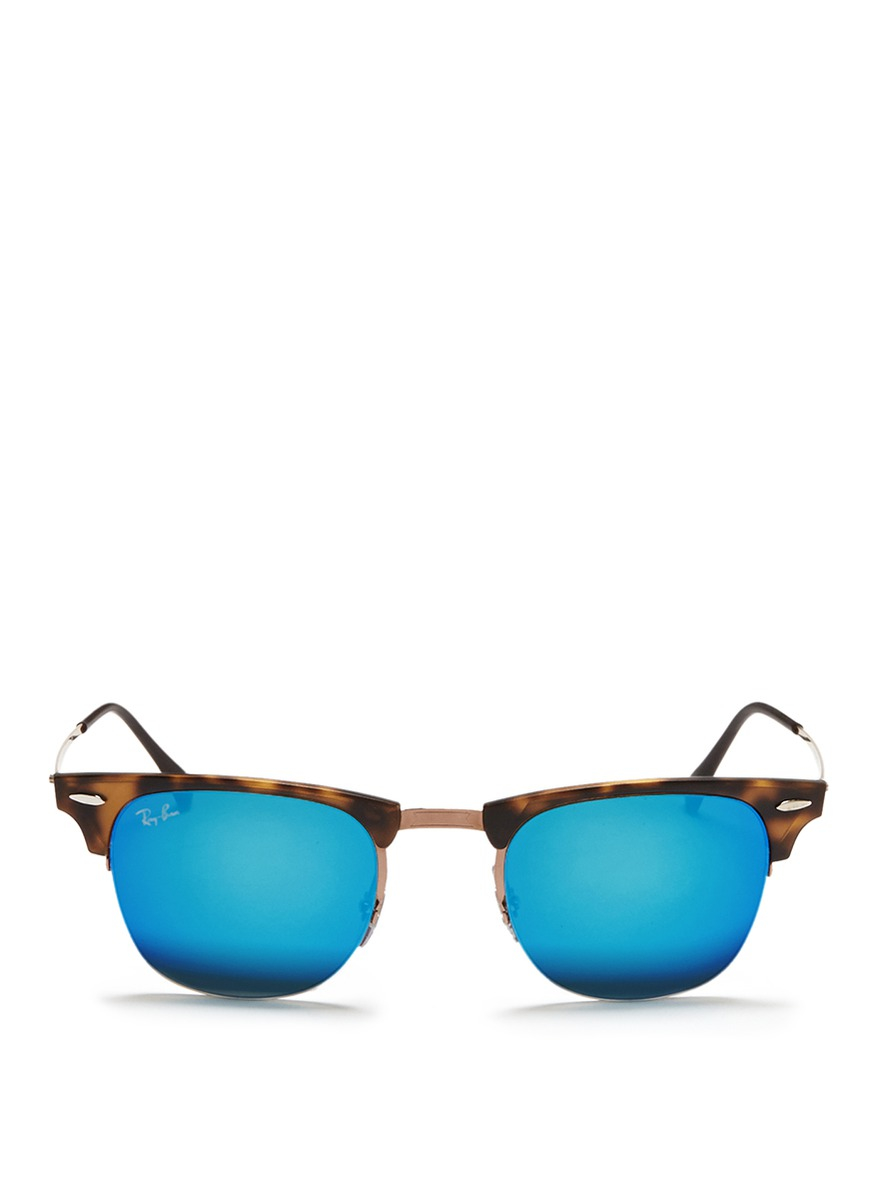 90c1b8913a ... clearance gallery. previously sold at lane crawford womens clubmaster  sunglasses womens ray ban clubmaster 1863b