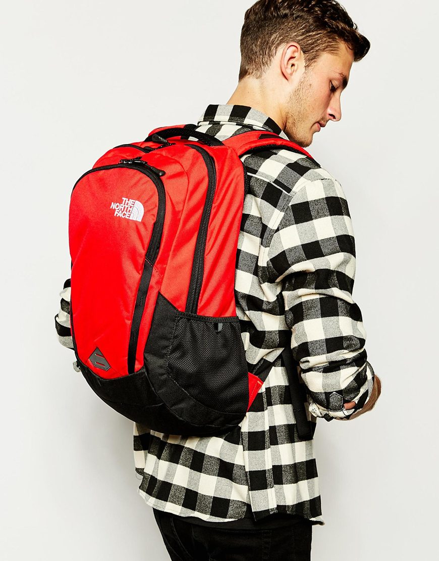 Lyst The North Face Vault Backpack In Red For Men