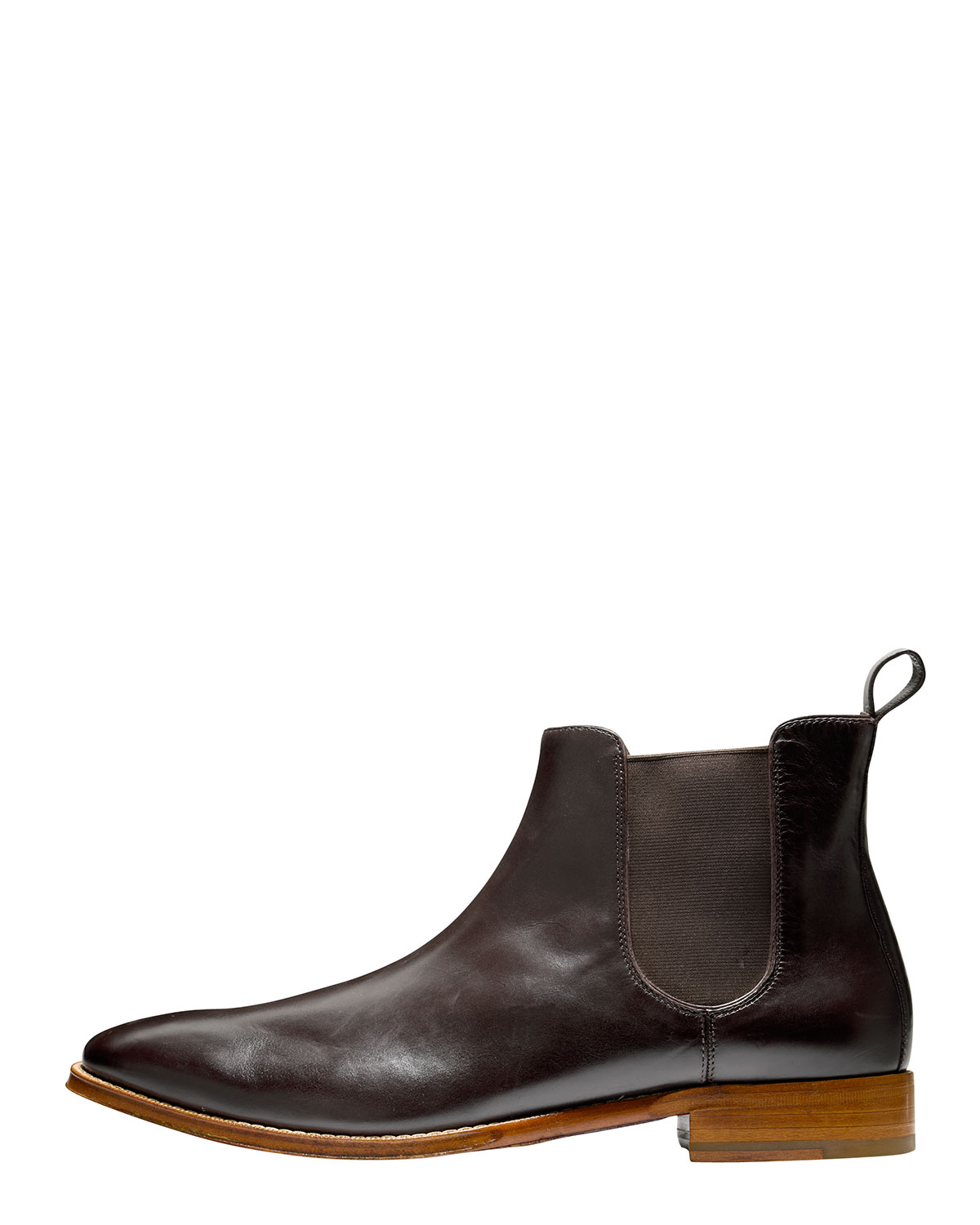 cole haan lionel dress chelsea boot in brown for