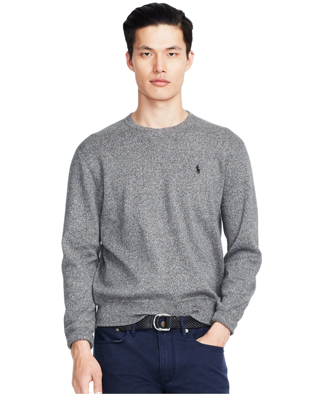 Polo Ralph Lauren | Black Cotton Crew-neck Sweatshirt for Men | Lyst. View