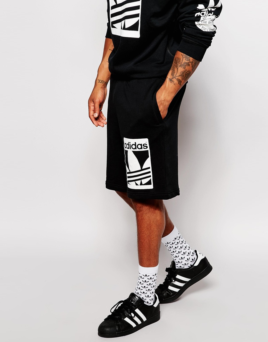 new product c87cb 43a2c Adidas Superstar With Shorts Men herbusinessuk.co.uk