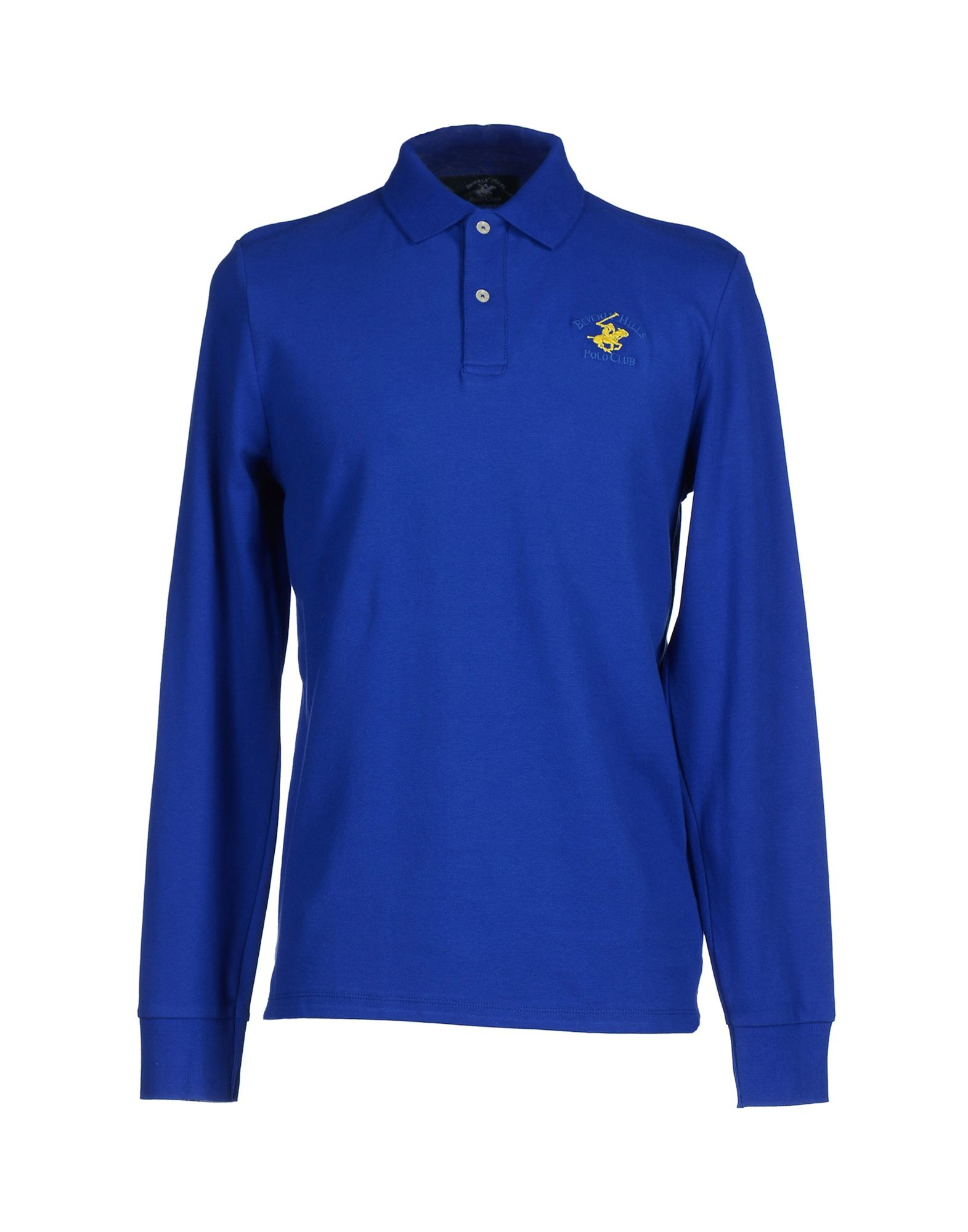 Beverly Hills Polo Club Polo Shirt In Blue For Men Bright