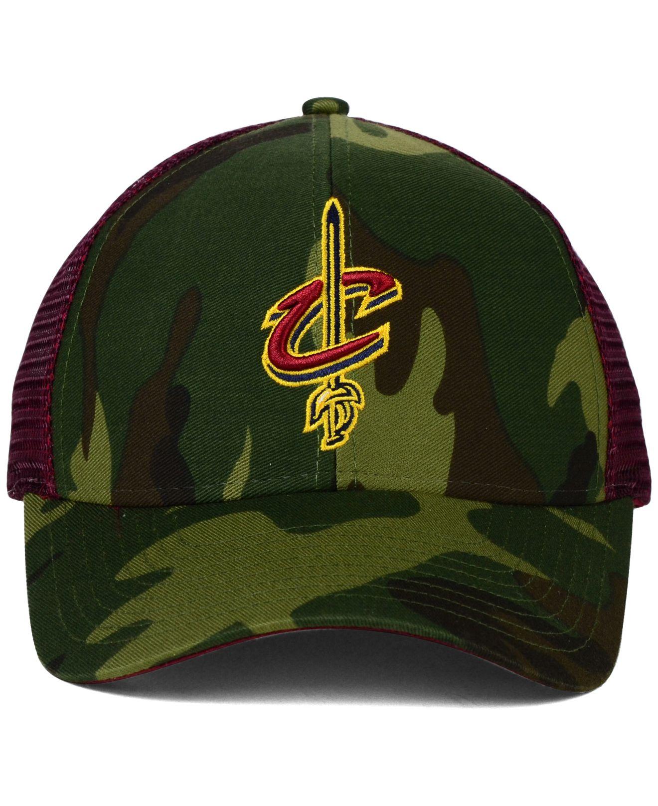 f18c777eb645a ... new era original fit 9fifty adjustable hat camo 1b152 6e42f greece lyst  adidas cleveland cavaliers camo trucker cap in green for men 6b9b9 78d4b ...
