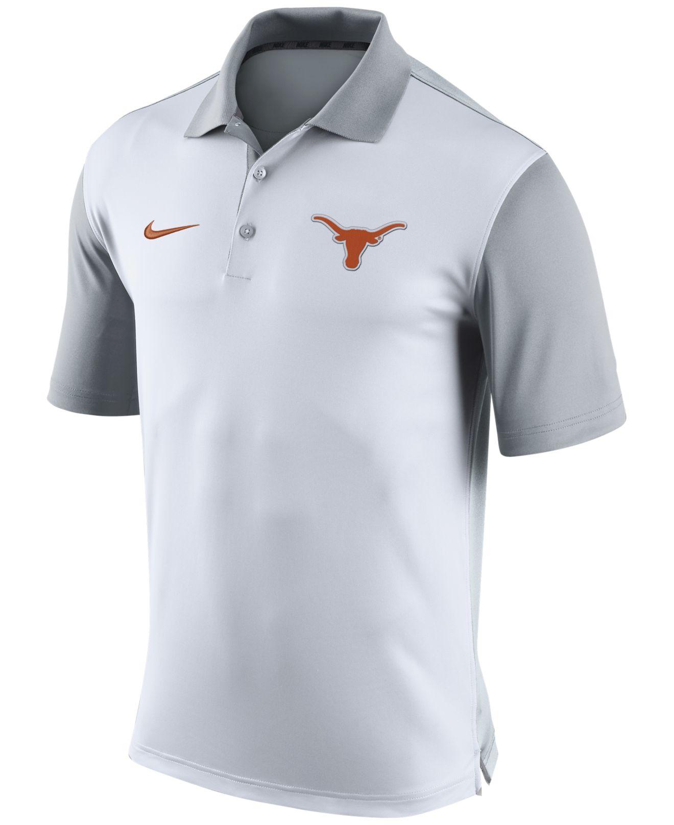 6157d0e0 Lyst - Nike Men's Texas Longhorns Preseason Polo in White for Men