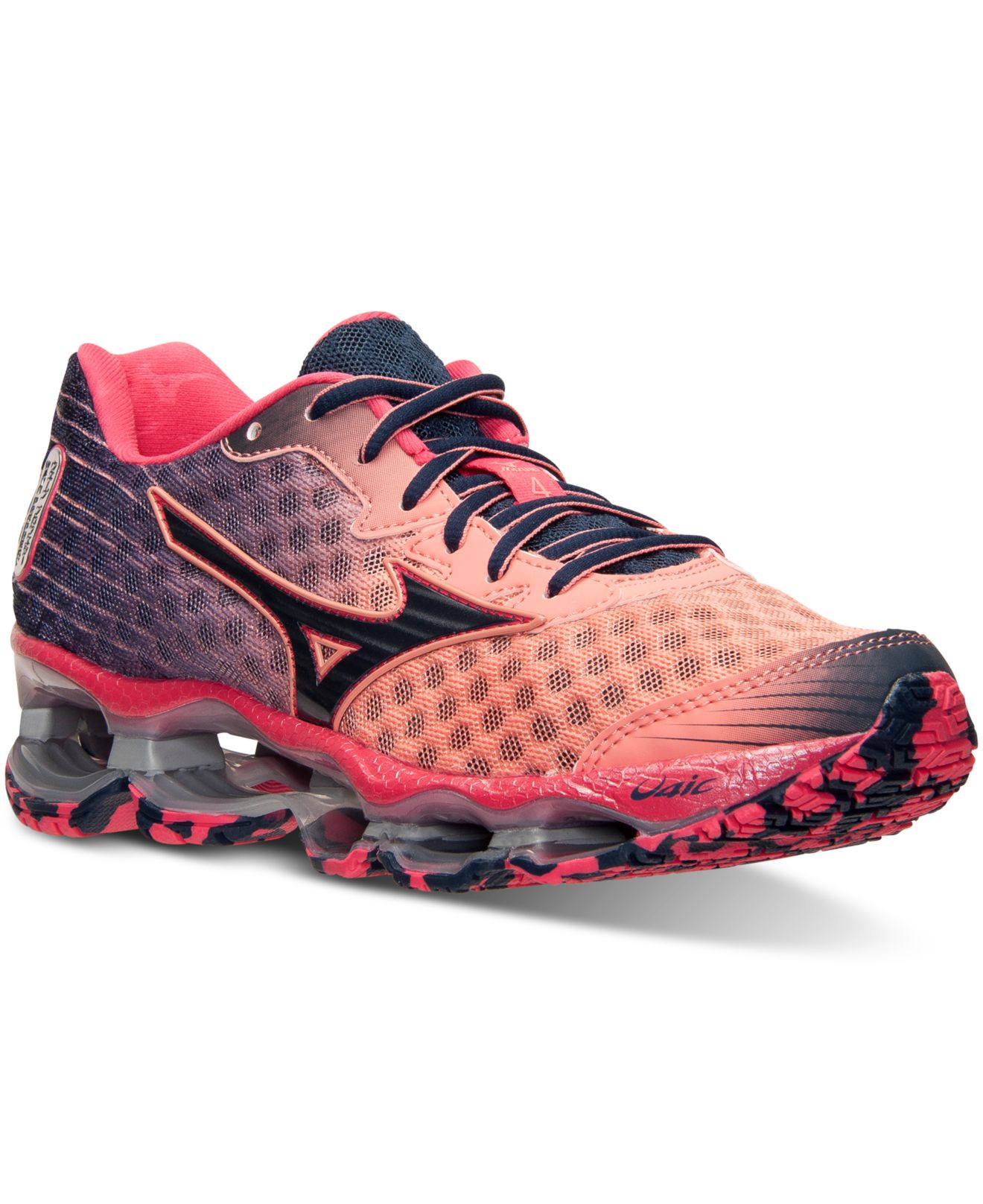 more photos aaa8a fdf70 Mizuno Women S Wave Prophecy 4 Running Sneakers From Finish Line in ...
