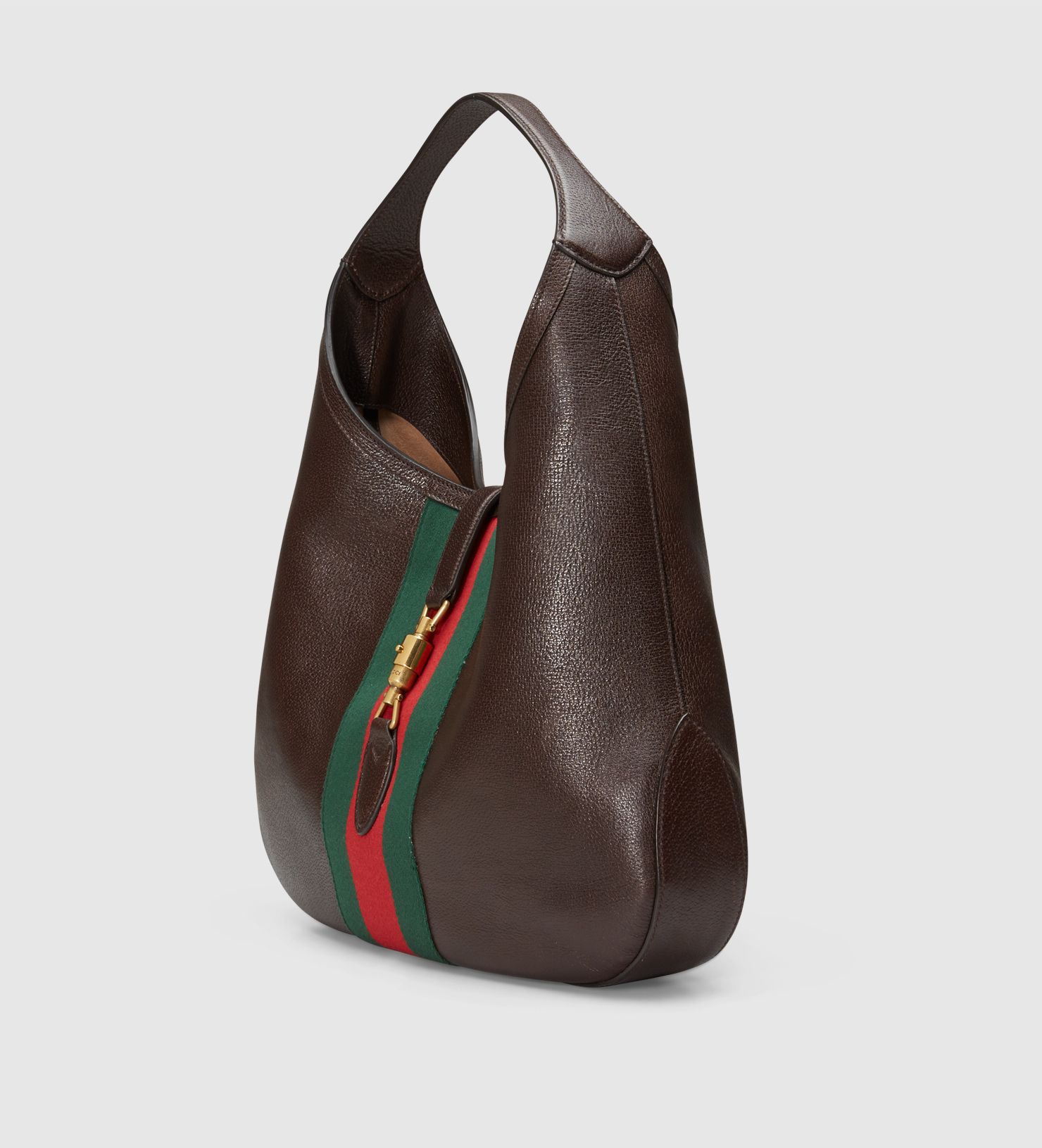 8cc7cf79e4a4 Gucci Jackie Soft Leather Hobo in Black - Lyst