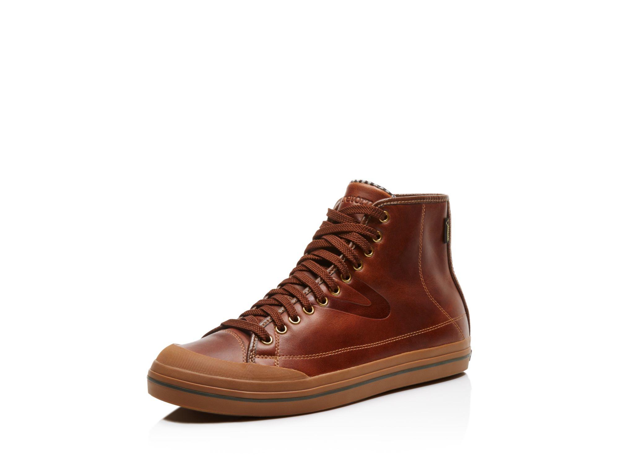 20182017 Fashion Sneakers Tretorn Mens Skymra Court GTX Leather Fashion Sneaker Retail