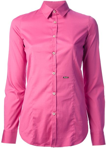 Collared Shirt in Pink