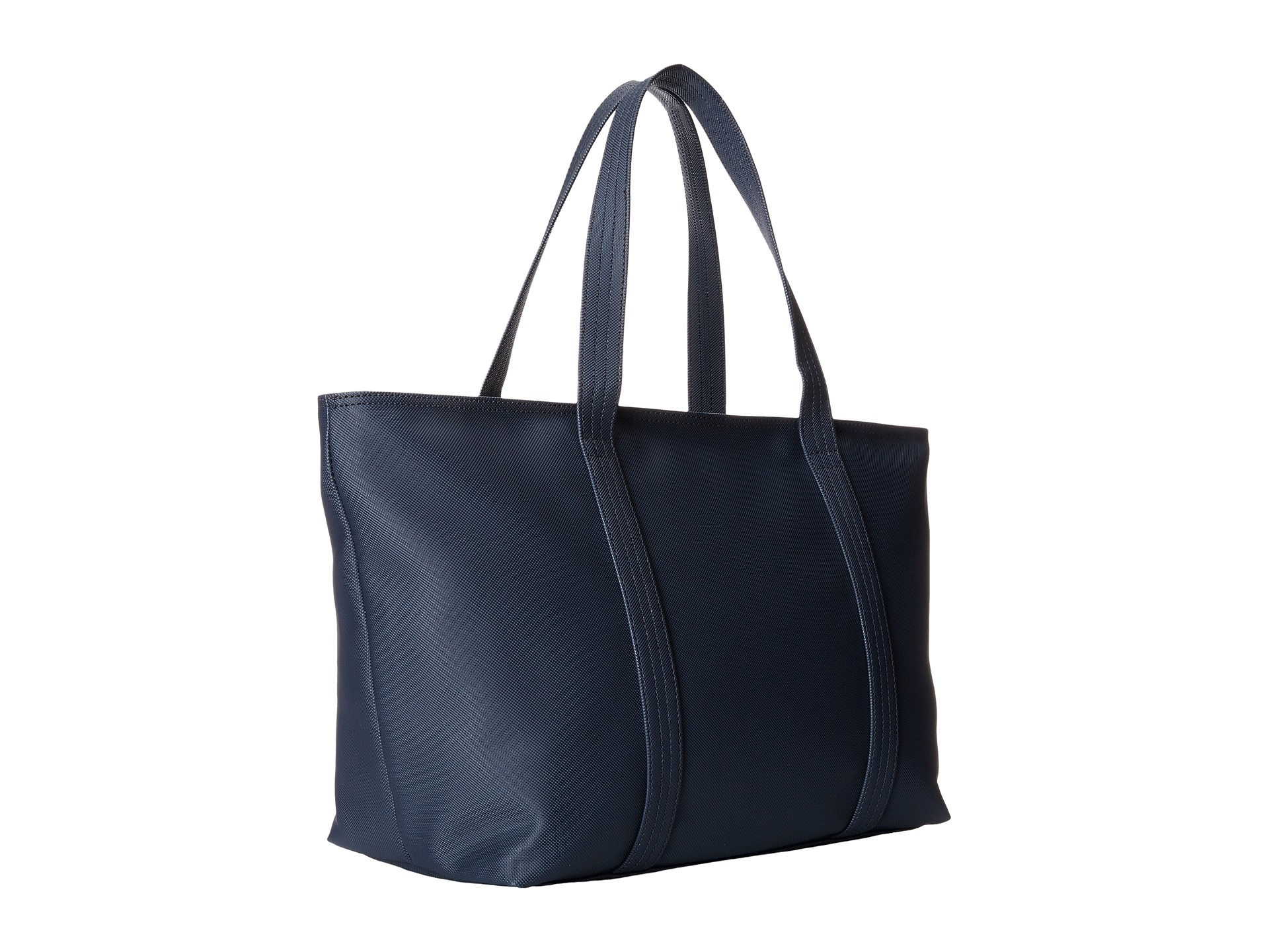 Lyst - Lacoste Classic Large Shopping Bag in Black