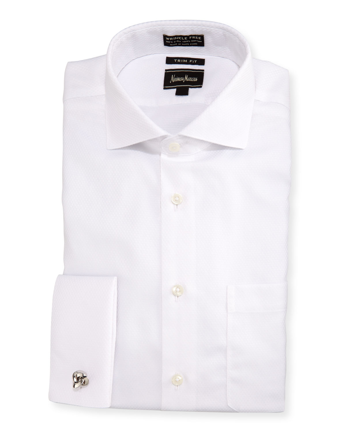 Lyst neiman marcus classic fit non iron dobby dress for White non iron dress shirts