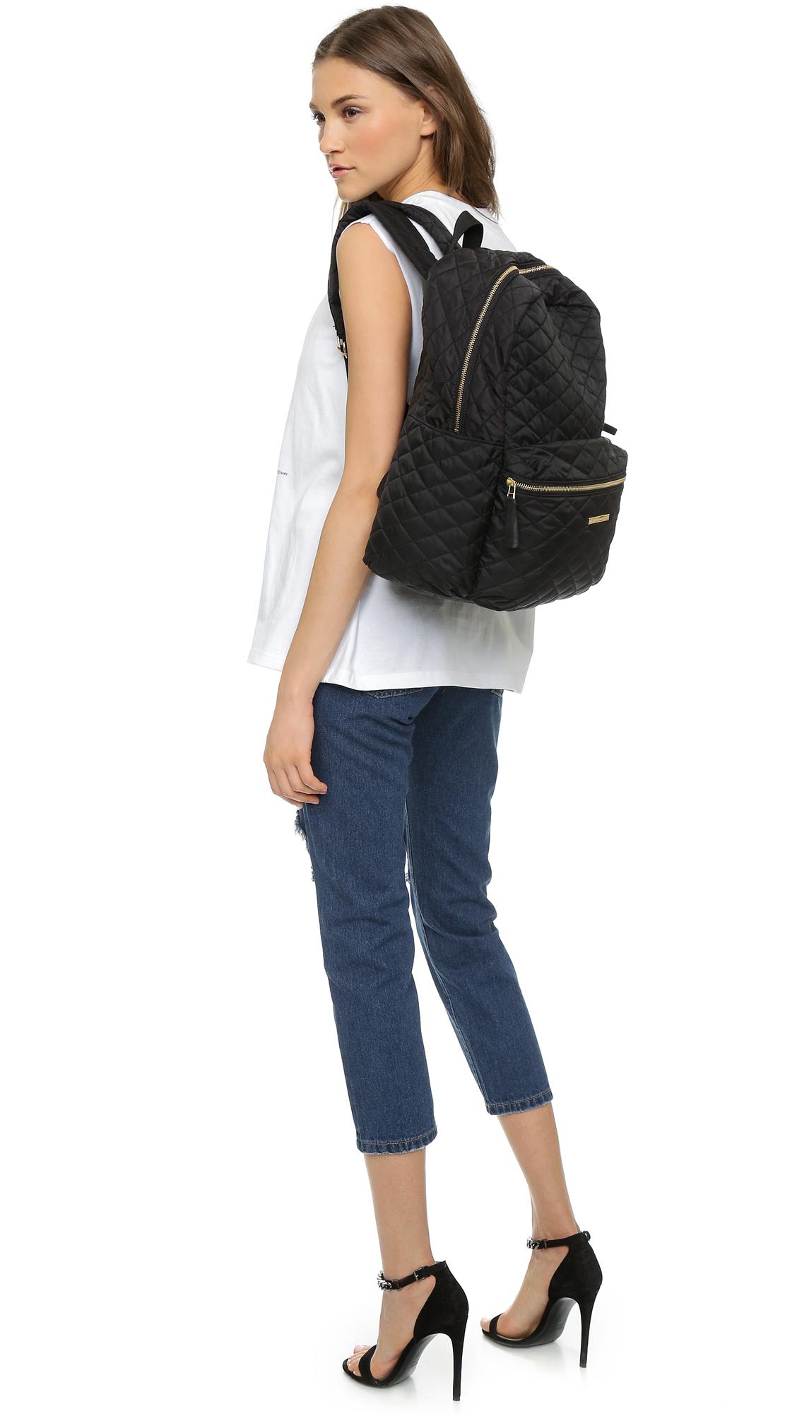 lyst day birger et mikkelsen day quilt backpack black. Black Bedroom Furniture Sets. Home Design Ideas
