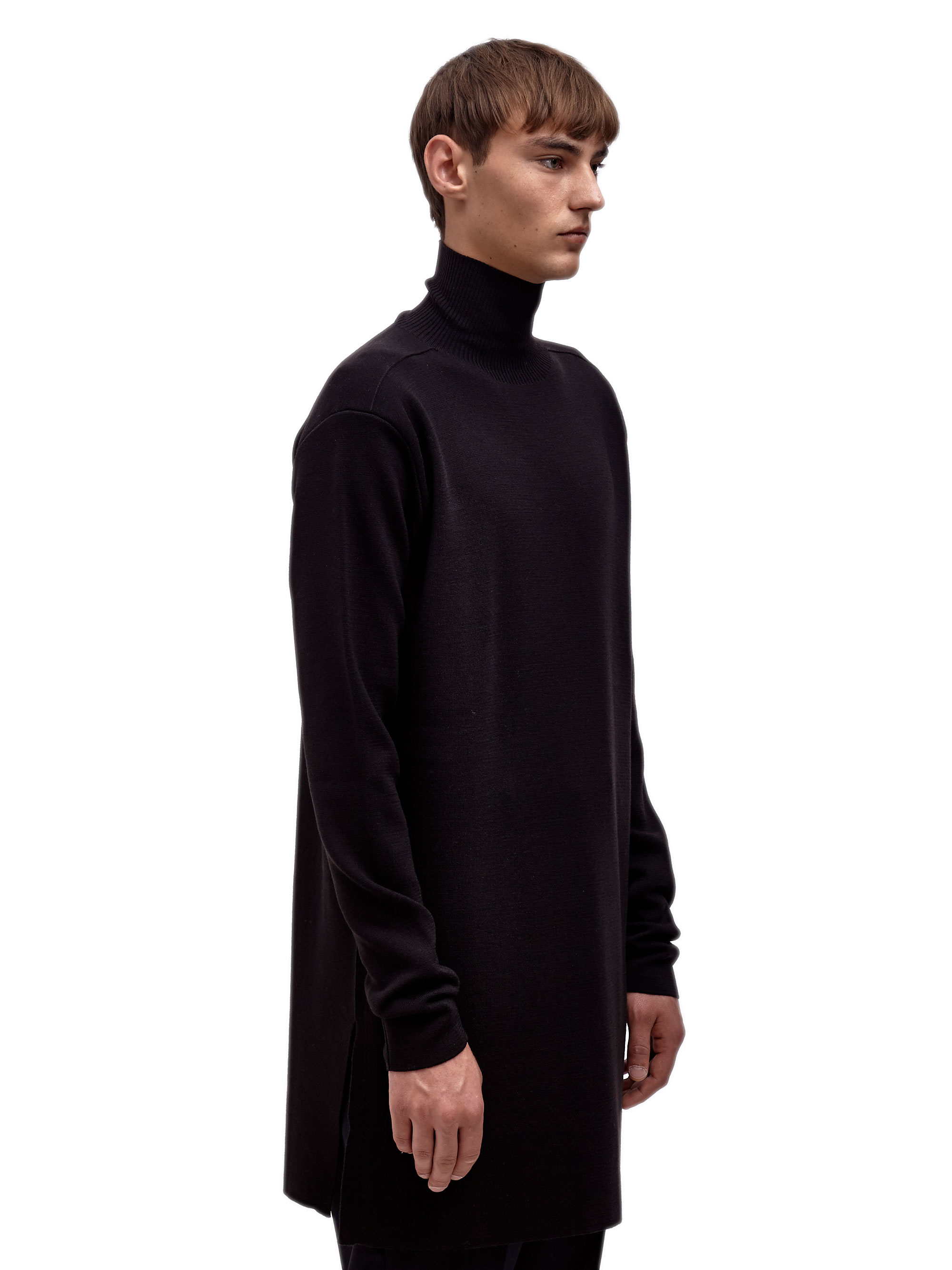 mock neck sweater - Black Rick Owens Perfect For Sale 2s6gHzS5I