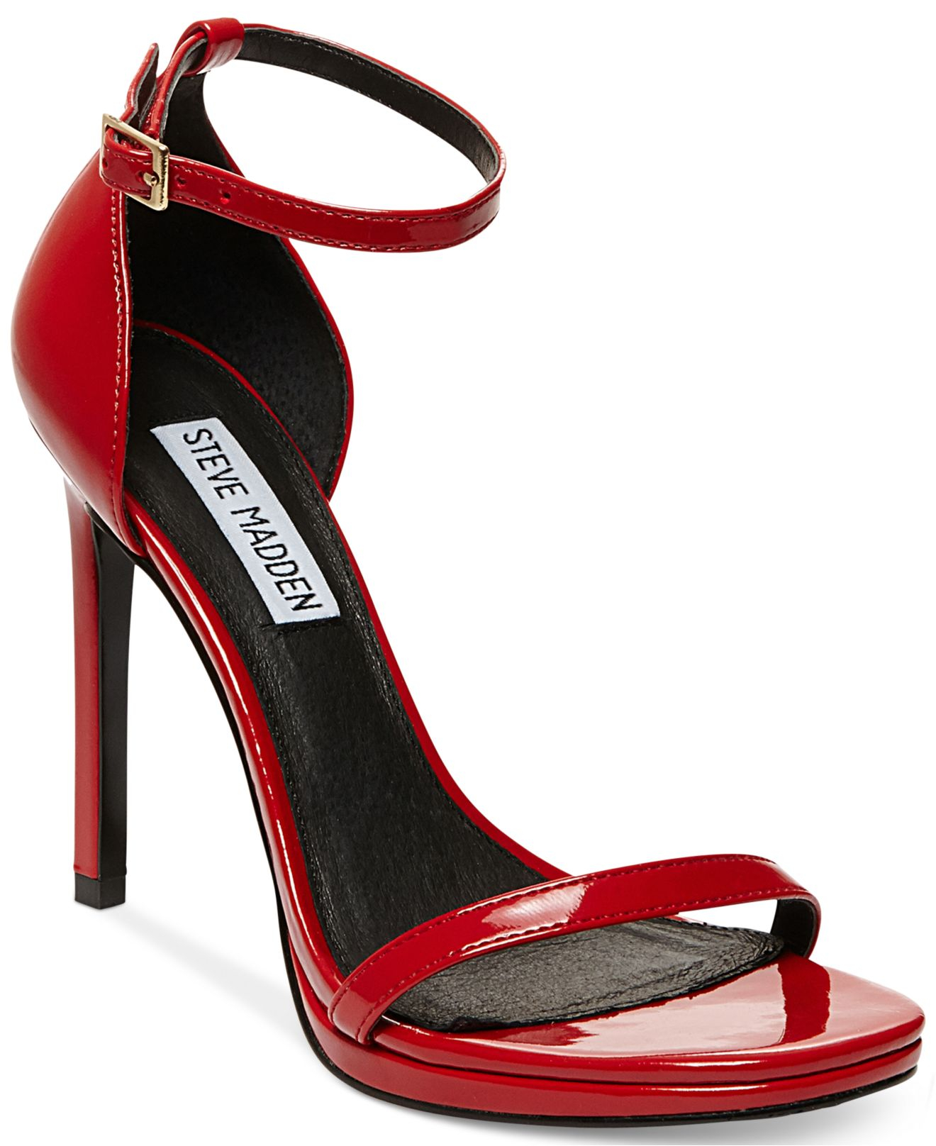943dedbdc95 Lyst - Steve Madden Women S Gea Two-Piece Dress Sandals in Red