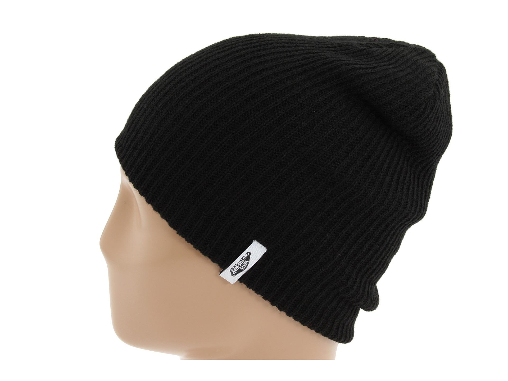 624308a7e53daa Lyst - Vans Mismoedig Beanie in Black for Men