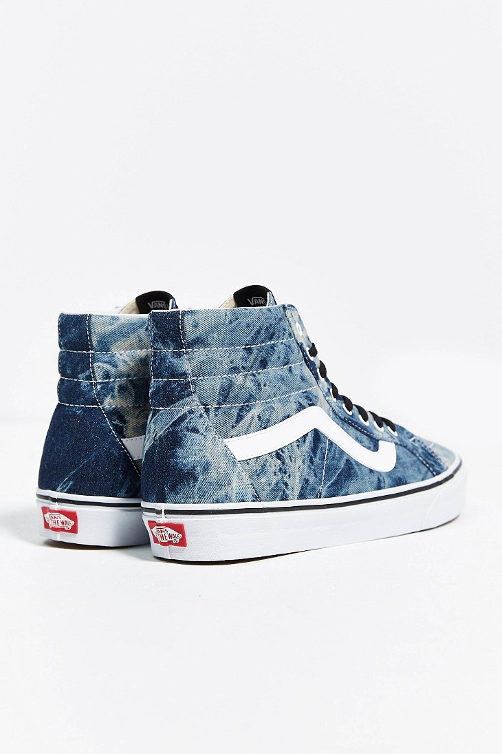 2c7c23afe2 Lyst - Vans Sk8-Hi Reissue Acid Wash Sneaker in Blue for Men