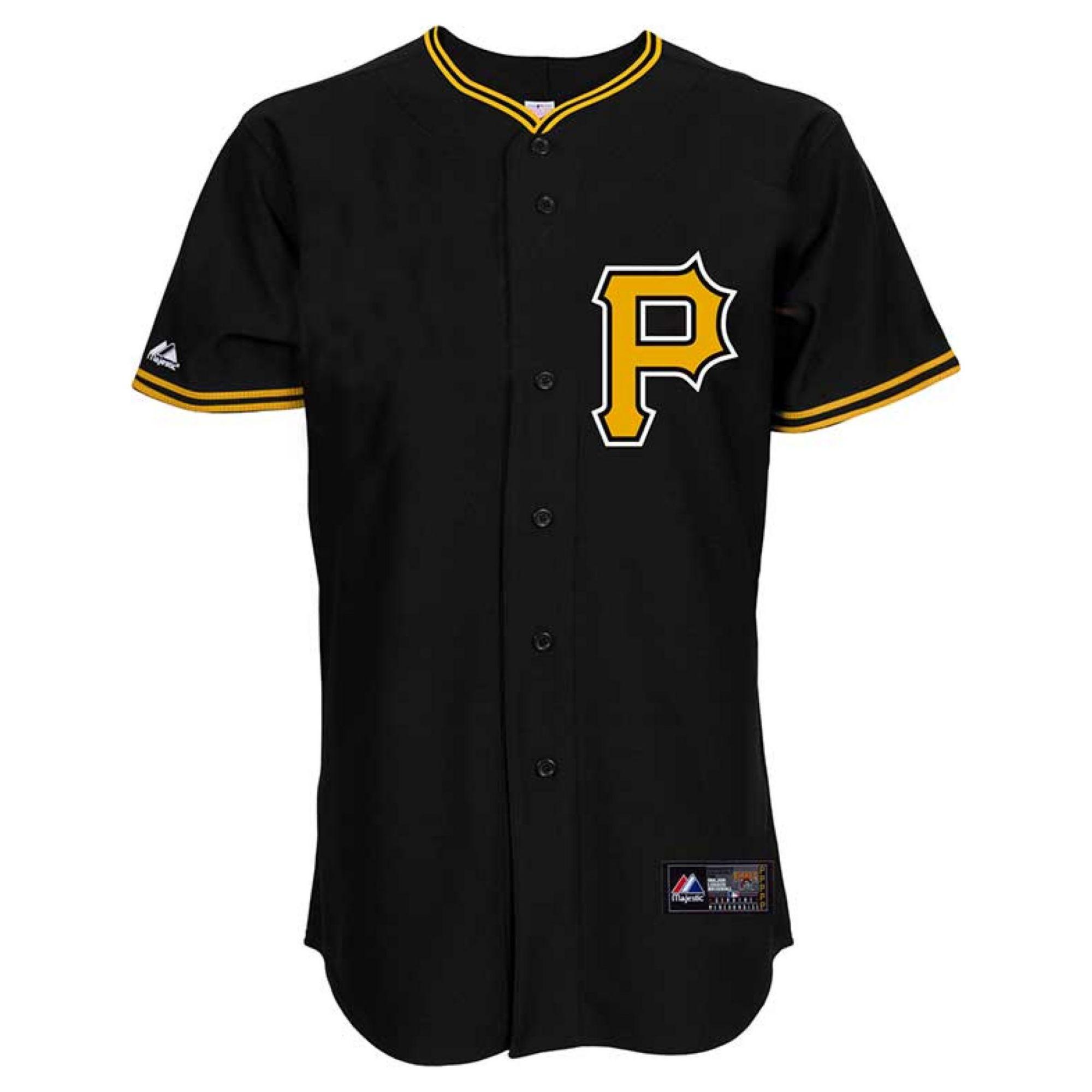 Majestic Mens Andrew Mccutchen Pittsburgh Pirates Replica Jersey In Black For Men Lyst