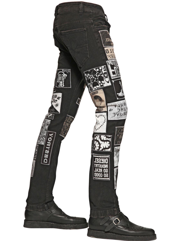 Black Skinny Jeans Men