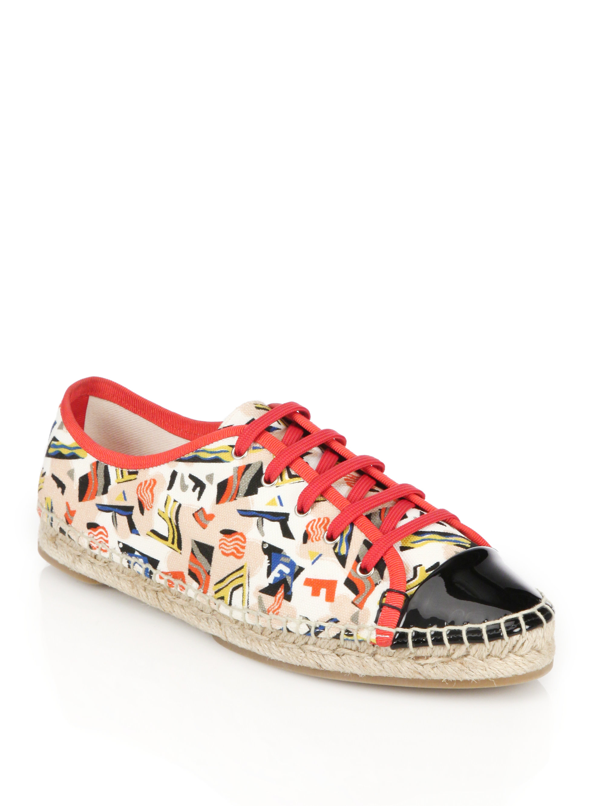 Fendi Junia Canvas Sneakers