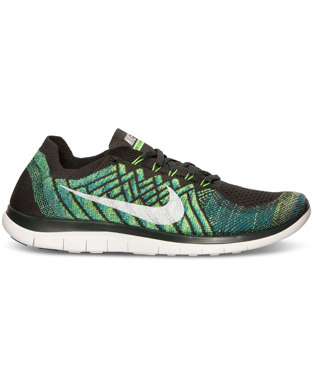 24b9bbe0acb8 ... coupon for lyst nike mens free 4.0 flyknit running sneakers from finish  line 03908 6d7bd