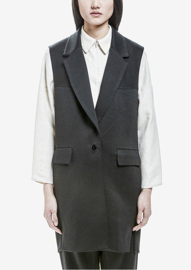 Sleeveless Sweater Vests. Showing 48 of results that match your query. Search Product Result. Product - Womens Drape Cardigan Sleeveless Vest, Brown - Made in USA. Product Image. Product - Alfani NEW Black Women Size Medium M Vest Sleeveless Open-Front Sweater. Product Image.