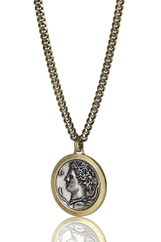 jenny bird arethusa pendant in metallic lyst