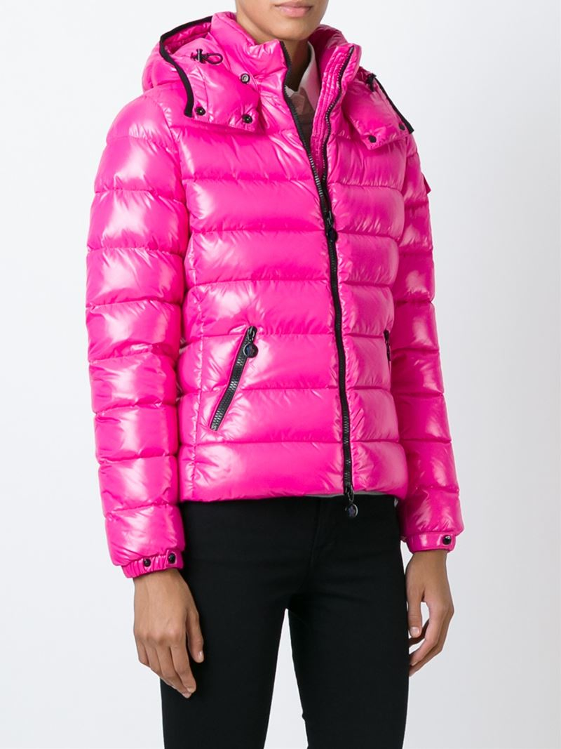Moncler Bady Quilted Jacket in Pink | Lyst