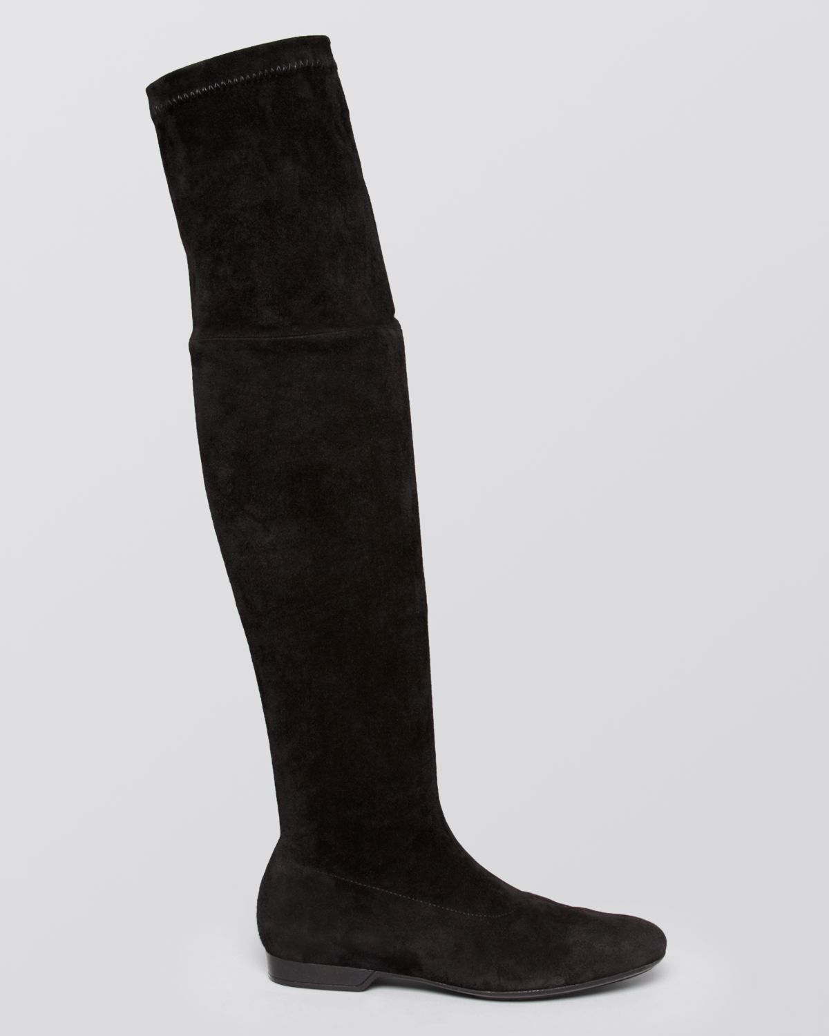 Robert Clergerie Flat Over The Knee Boots Fissah Stretch
