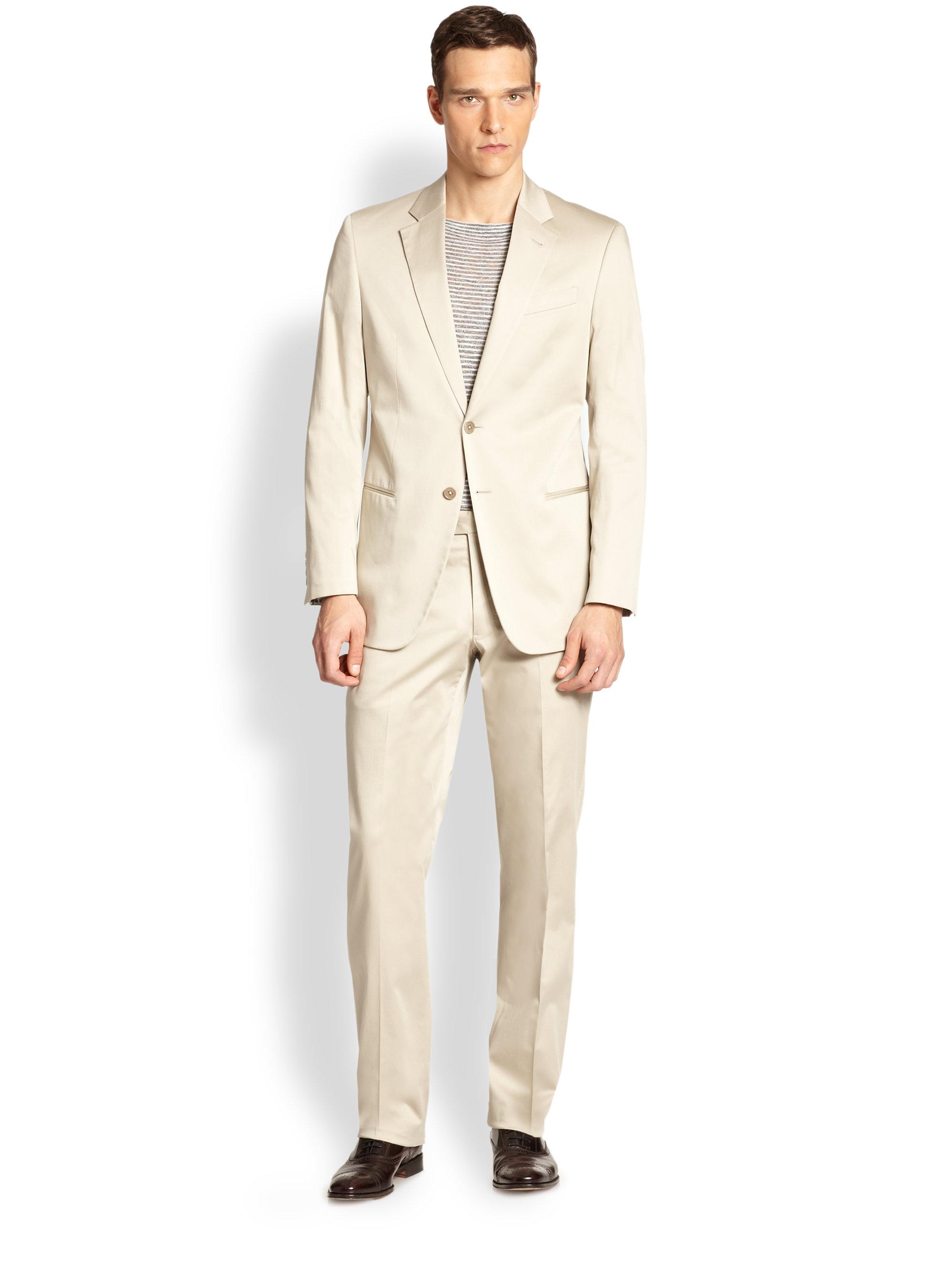 White Armani suits photos