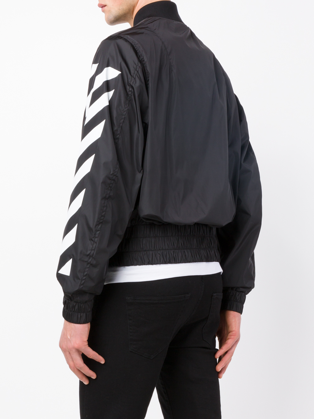 Lyst Off White C O Virgil Abloh Eagle Embroidered Bomber