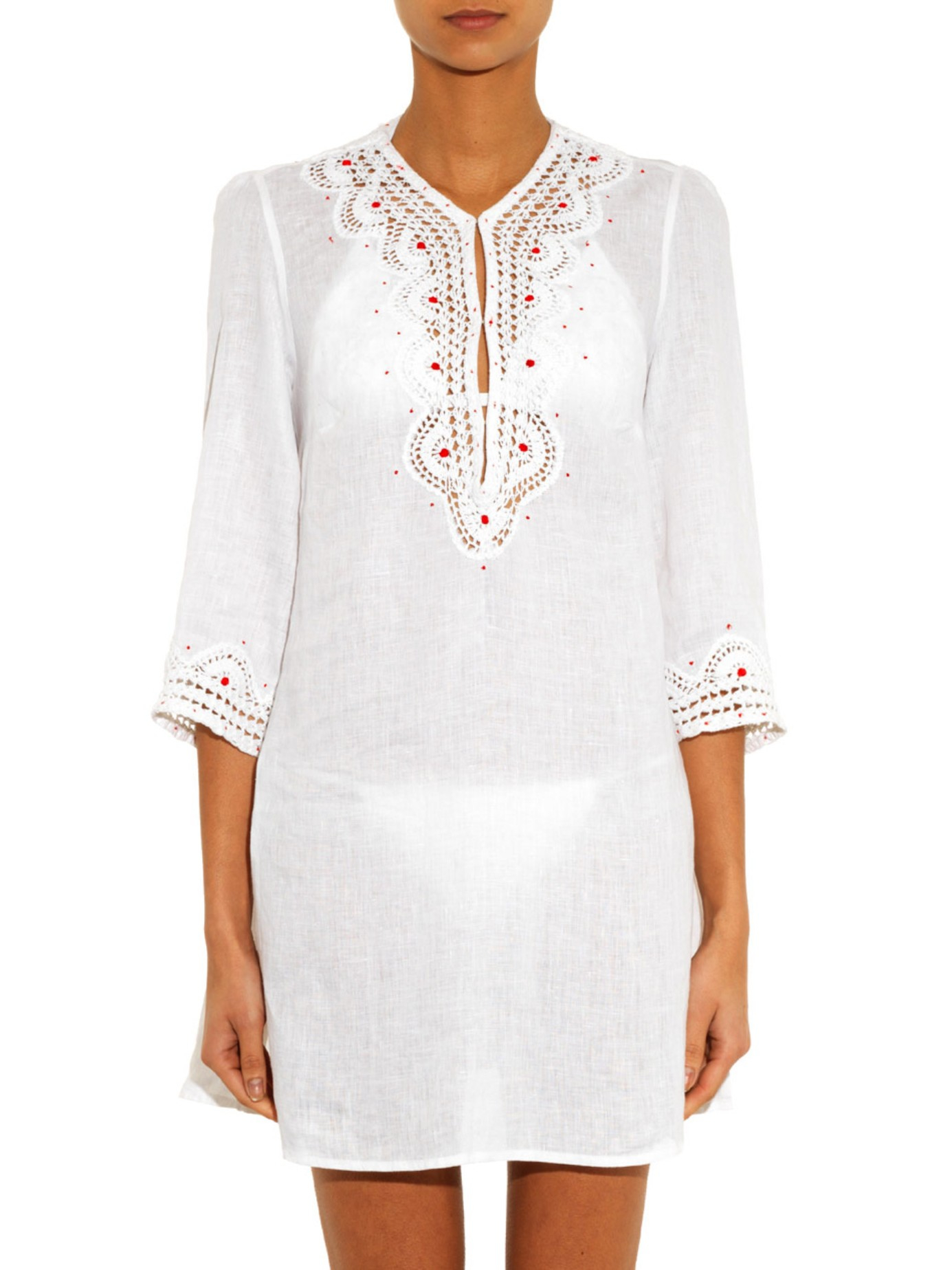 Lyst Easton Pearson Take Away Amea Kuta Embroidered