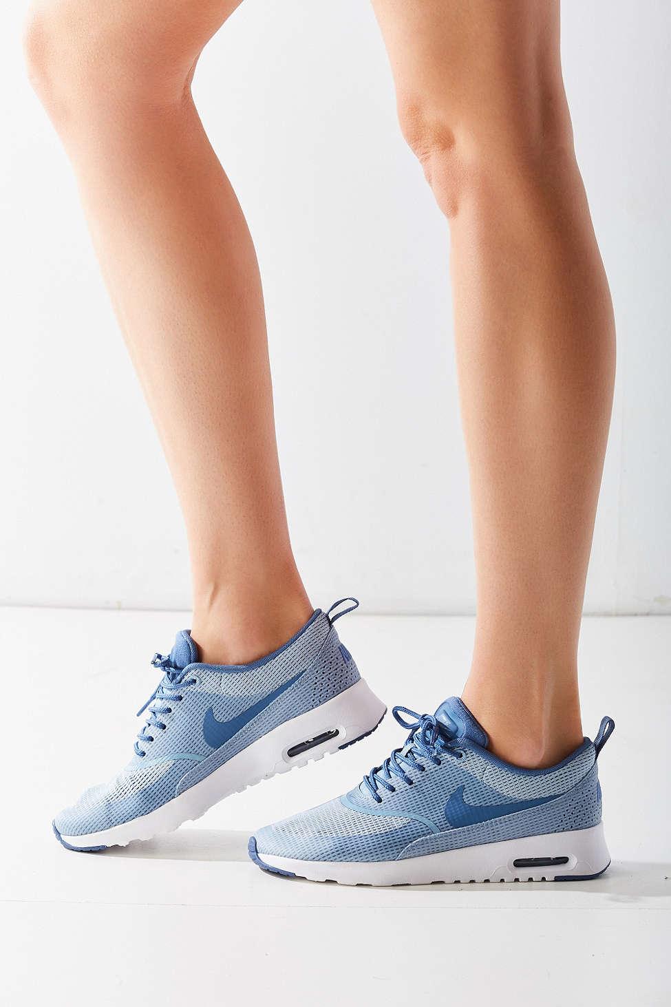 c909ffd6f3ad Lyst - Nike Air Max Thea Textile Sneaker in Blue