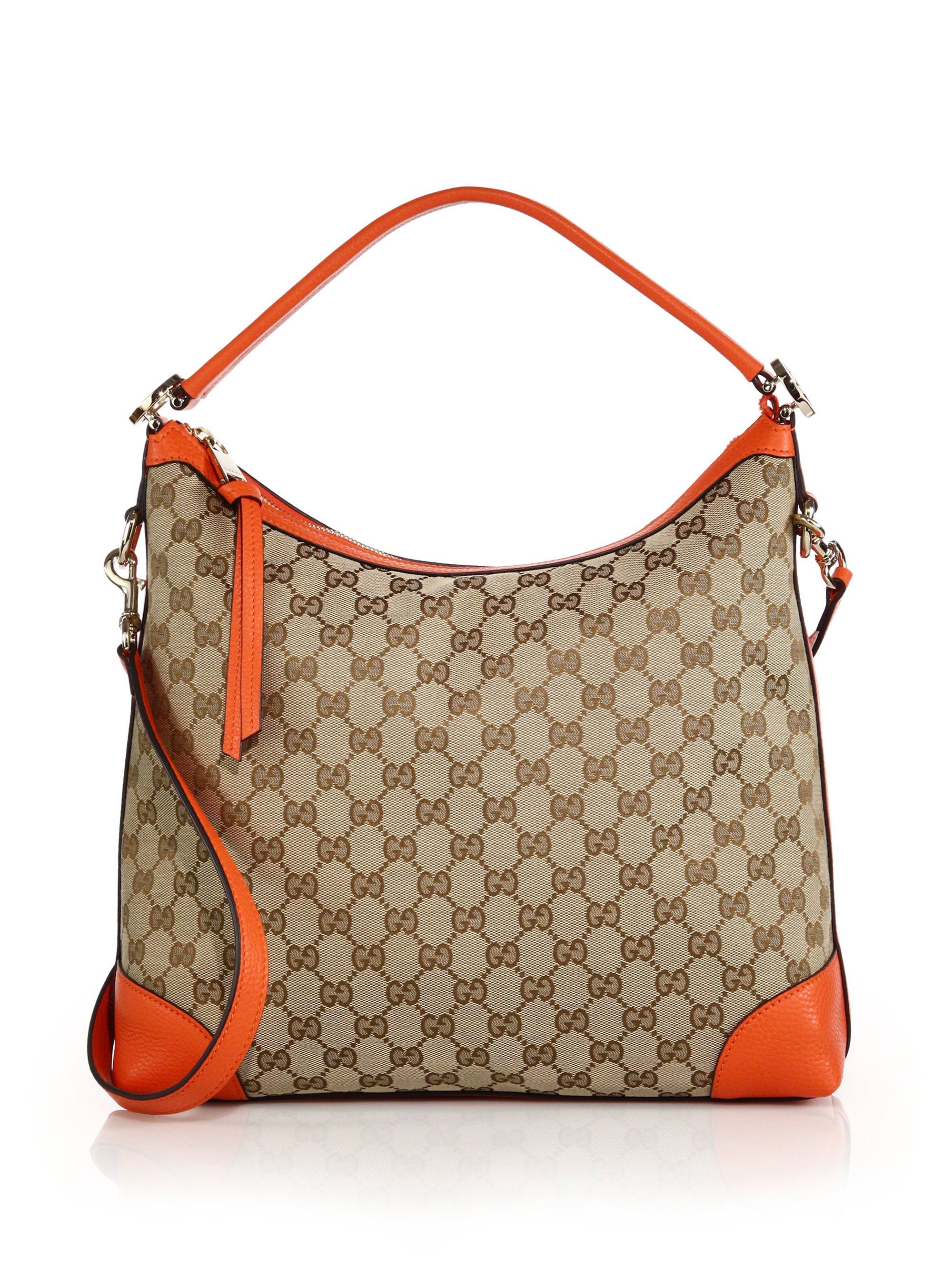 Lyst Gucci Miss Gg Small Original Gg Canvas Hobo Bag In
