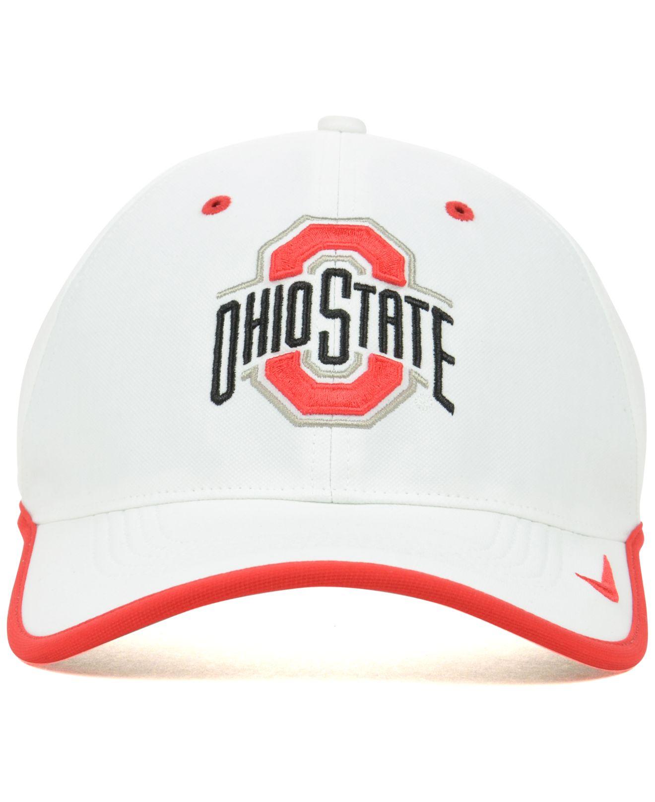 free shipping e6fda 06b4b ... 50% off lyst nike ohio state buckeyes coaches dri fit cap in orange for  men